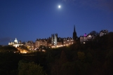 Exiting the train in Edinburgh, I see this stunning downtown sight.